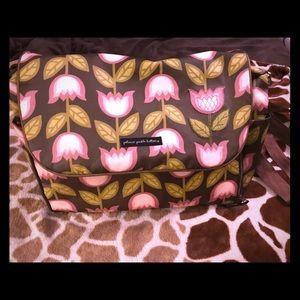 Petunia Pickle Bottom XL Diaper Bag w/extras